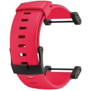 SUUNTO スント [正規品]コア ウレタンストラップ フラット レッド SS018820000 腕時計用ベルト バンド ファッション 腕時計 アクセサリー 腕時計用品|od-yamakei