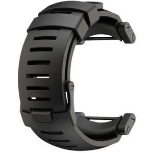 SUUNTO スント [正規品]コア ラバーストラップ ディープブラック SS018816000 腕時計用ベルト バンド ファッション 腕時計 アクセサリー 腕時計用品|od-yamakei