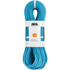 PETZL ペツル コンタクト 9.8mm/Turquoise/60 R33AT060 ブルー クイックドロー アウトドア 釣り 旅行用品 キャンプ ロープ シングルロープ|od-yamakei
