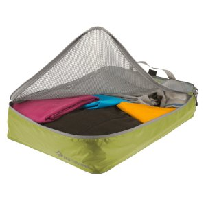 SEA TO SUMMIT シートゥーサミット ガーメント メッシュバッグ/ライム/グレー/L ST85013 グリーン 旅行用衣類圧縮袋 アウトドア 釣り 旅行用品 旅行用品|od-yamakei