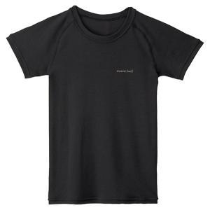 mont-bell(モンベル) ZL LW Tシャツ KS 105-120/BK/120 1107603|od-yamakei