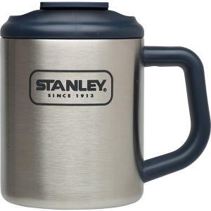 STANLEY(スタンレー) スチールキャンプマグ 0.35L/シルバー 01697-001 シルバー アウトドア用マグカップ コップ アウトドア 釣り 旅行用品|od-yamakei