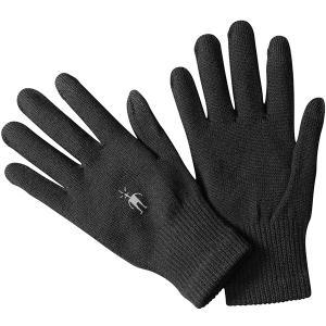 SmartWool スマートウール ライナーグローブ/ブラック/M SW65338002005 男女兼用 ブラック 手袋 アウトドア 釣り 旅行用品 キャンプ アウトドアウェア od-yamakei