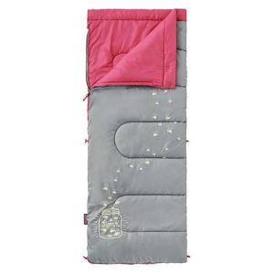 Coleman コールマン グローナイトキッズ/C7 ピーチ 2000022263 子供用 ピンク サマータイプ(夏用) 封筒型寝袋 アウトドア 釣り 旅行用品 キャンプ 封筒型 od-yamakei