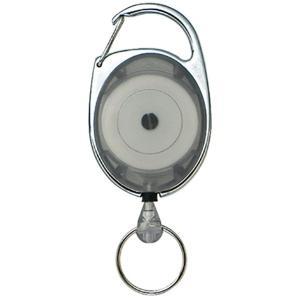 Highmount ハイマウント HM リールキーホルダー グレー 11235 グレー キーホルダー キーリング ファッション メンズファッション 財布 ファッション小物|od-yamakei