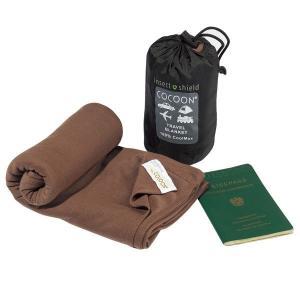 COCOON コクーン コクーンI.SC.MAXトラベルブランケット 12550030 ブラウン 毛布 アウトドア 釣り 旅行用品 アウトドアギア|od-yamakei