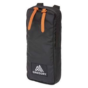 GREGORY グレゴリー シングルポケット/ブラック 65374 ブラック アウトドアポーチ アウトドア 釣り 旅行用品 キャンプ 小物バッグ 小物バッグ|od-yamakei