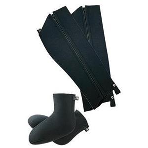 Caravan キャラバン ケイリュウスパッツ&ソックス/190ブラック/M 03611 レインウエア ファッション メンズファッション 財布 ファッション小物 雨具|od-yamakei