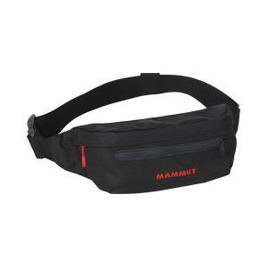 Mammut マムート Classic Bumbag 1/black 0001 2520-00470 ブラック ウエストポーチ スポーツ マラソン ランニング バッグ ウェストバッグ od-yamakei