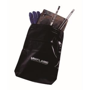 UNIFLAME ユニフレーム インスタントスモーカー収納ケース 665992 ブラック アウトドア 釣り 旅行用品 キャンプ クッキング用品収納バッグ|od-yamakei