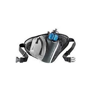deuter ドイター パルス ツー グレー×ブラック 4700 D39080 ウエストポーチ スポーツ マラソン ランニング バッグ ウェストバッグ ウェストバッグ|od-yamakei