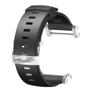 SUUNTO スント [正規品]コア ウレタンストラップ フラット ブラック SS013338000 腕時計用ベルト バンド ファッション 腕時計 アクセサリー 腕時計用品|od-yamakei