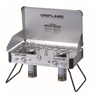 UNIFLAME ユニフレーム ツインバーナー US-1900 610305 アウトドア ツーバーナーコンロ 釣り 旅行用品 ツーバーナーストーブ ストーブガス|od-yamakei