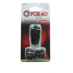 FOX40 フォックス40 マイクロホイッスルBK 23253 ブラック 登山用ホイッスル アウトドア 釣り 旅行用品 キャンプ 笛 救助用 アウトドアギア|od-yamakei