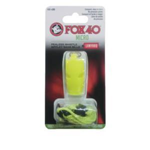 FOX40 フォックス40 マイクロホイッスルYL 23254 イエロー ホイッスル アウトドア 釣り 旅行用品 キャンプ 笛 救助用 アウトドアギア|od-yamakei