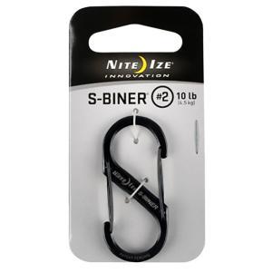 NITE-IZE ナイトアイズ エスビナー #2/ブラックチタン NI00737 ブラック キーホルダー キーリング ファッション メンズファッション 財布 アウトドアギア|od-yamakei