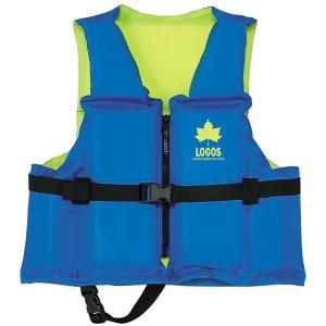 OUTDOOR LOGOS ロゴス フローティングベスト子供用65 ブルー 66812200 子供用 ライフジャケット アウトドア 釣り 旅行用品 フィッシングウエア|od-yamakei