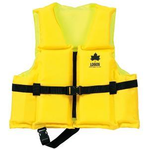 OUTDOOR LOGOS ロゴス フローティングベスト子供用65 イエロー 66812201 子供用 ライフジャケット アウトドア 釣り 旅行用品 アウトドアギア|od-yamakei