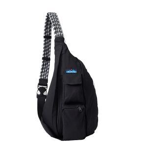 KAVU カブー RopeBag/Black/1SZ 11863416 ブラック クライミングチョーク アウトドア 釣り 旅行用品 キャンプ チョークバッグ・ロープバッグ|od-yamakei
