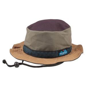 KAVU カブー ストラップバケットハット/Ugly/L 11863452 ブラウン アウトドア 釣り 旅行用品 キャンプ 登山 ウェアアクセサリー キャップ・ハット|od-yamakei