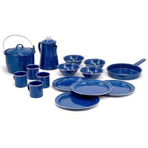 GSI ジーエスアイ パイオニア 16P キャンプセット BL 11870005 ブルー アウトドア用マグカップ コップ アウトドア 釣り 旅行用品 テーブルウェア|od-yamakei
