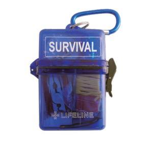 LIFELINE ライフライン サバイバルBOX ブルー LF-0046 アウトドア 懐中電灯 ハンディライト 釣り 旅行用品 LEDタイプ アウトドアギア|od-yamakei