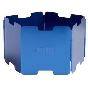 vargo バーゴ アルミニウム ウインドスクリーン/ ブルー T-421 ウインドスクリーン アウトドア 釣り 旅行用品 キャンプ アクセサリー 風防 od-yamakei