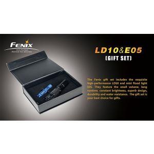 FENIX(フェニックス) LD10+E05(BL)ギフトボックスセット|od-yamakei