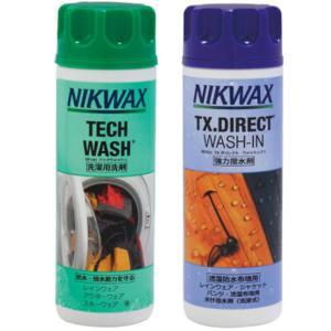 NIKWAX ニクワックス 181・251ツインパック EBEP01 アウトドア 釣り 旅行用品 キャンプ 登山 ウェアアクセサリー 洗剤 アウトドアウェア|od-yamakei