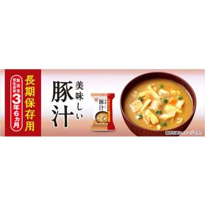 アマノフーズ 長期保存美味しい豚汁 76199|od-yamakei