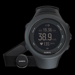 SUUNTO スント [正規品・2年保証]AMBIT3 SPORT HR BLACK アンビット3スポーツエイチアールブラック SS020678000 腕時計 ファッション アクセサリー|od-yamakei