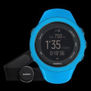 SUUNTO スント [正規品・2年保証]AMBIT3 SPORT HR BLUE アンビット3スポーツエイチアールブルー SS020679000 腕時計 ファッション アクセサリー|od-yamakei