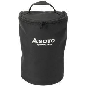 SOTO ソト 新富士バーナー SOTOランタン用収納ケース ST-2106 ブラック アウトドア 釣り 旅行用品 キャンプ アクセサリー アウトドアギア|od-yamakei