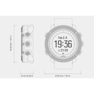 SUUNTO スント TRAVERSE ALPHA STEALTH トラバース アルファ ステルス SS022469000 腕時計 ファッション アクセサリー メンズ腕時計 高機能ウォッチ|od-yamakei|02