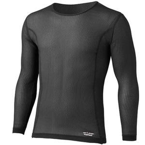 finetrack ファイントラック スキンメッシュロングスリーブ MENS BK XL FUM0411 男性用 ブラック Tシャツ アンダーシャツ アウトドア 釣り 旅行用品|od-yamakei