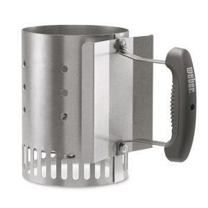WEBER ウェーバー Compact Rapidfire Chimney Starter 7447 コンパクトラピッドファイヤーチムニースターター 火起こし器 アウトドア 釣り 旅行用品|od-yamakei