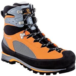 SCARPA スカルパ シャルモ プロ GTX/グレー/オレンジ/#44 SC23071 登山靴 トレッキングシューズ アウトドア 釣り 旅行用品 トレッキング用|od-yamakei