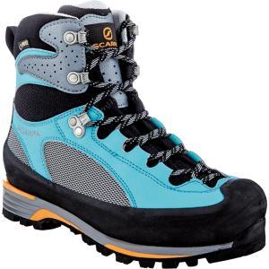 SCARPA スカルパ シャルモ プロ GTX WMN/グレー/モルディブ/#39 SC23081 登山靴 トレッキングシューズ アウトドア 釣り 旅行用品 トレッキング用|od-yamakei