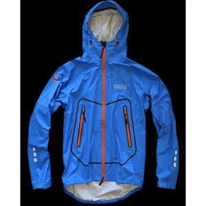OMM AETHER JACKET/BLUE/ORANGE/M レインジャケット レインウエア ウエア レインウェア(ジャケット) レインウェア男性用(男女兼用) アウトドアウェア|od-yamakei