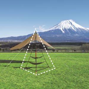 UNIFLAME ユニフレーム REVOラック 681503 テント部品 アクセサリー アウトドア 釣り 旅行用品 テントオプション アウトドアギア|od-yamakei