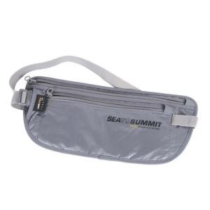 SEA TO SUMMIT シートゥーサミット マネーベルト RFID/グレー ST85058 ウエストポーチ スポーツ マラソン ランニング バッグ ウェストバッグ|od-yamakei