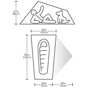 BIG AGNES ビッグアグネス ラトルスネイクSL1 mtnGLO TRSSL1MG15 一人用(1人用) 山岳テント アウトドア 釣り 旅行用品 キャンプ 登山用テント 登山1|od-yamakei|07
