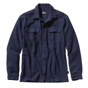 patagonia(パタゴニア) Ms L/S Fjord Flannel Shirt - AF/NVYB/L 54130|od-yamakei