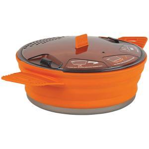 SEA TO SUMMIT シートゥーサミット X-ポット/オレンジ/1.4L ST84011 オレンジ アウトドア調理器具 アウトドア 釣り 旅行用品 キャンプ 単品クッカー|od-yamakei
