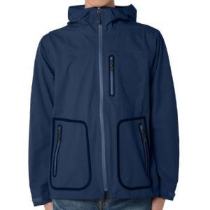 snow peak(スノーピーク) [残り1着!]Packable3LRainJacket/Blue/L JK-15AU004 レインジャケット レインウエア ウエア レインウェア(ジャケット)|od-yamakei