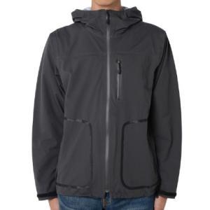 snow peak スノーピーク [残り1着!]Packable3LRainJacket/Charcoal/M JK-15AU004 レインジャケット ファッション メンズファッション 財布 雨具|od-yamakei