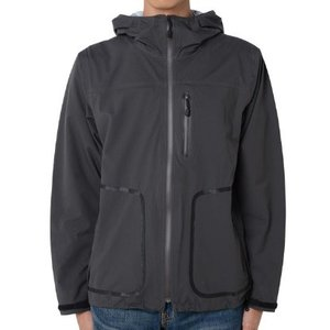 snow peak(スノーピーク) [残り1着!]Packable3LRainJacket/Charcoal/L JK-15AU004 レインジャケット レインウエア ウエア レインウェア(ジャケット)|od-yamakei