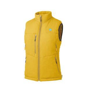 finetrack ファイントラック WOMENSポリゴン4ベスト/MS/L FIW0222 女性用 イエロー ダウンベスト ファッション レディースファッション ジャケット od-yamakei