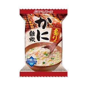 AMANO アマノフーズ 炙りかに雑炊 77877 レトルトご飯 包装米飯 食品 米 雑穀 粉類 ご飯・おかず・カンパン ごはん系 アウトドアギア|od-yamakei