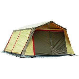 ogawa campal 小川キャンパル ロッジシェルター2 3378 キャンプ大型シェルタータープ アウトドア 釣り 旅行用品 キャンプ シェルター シェルター|od-yamakei